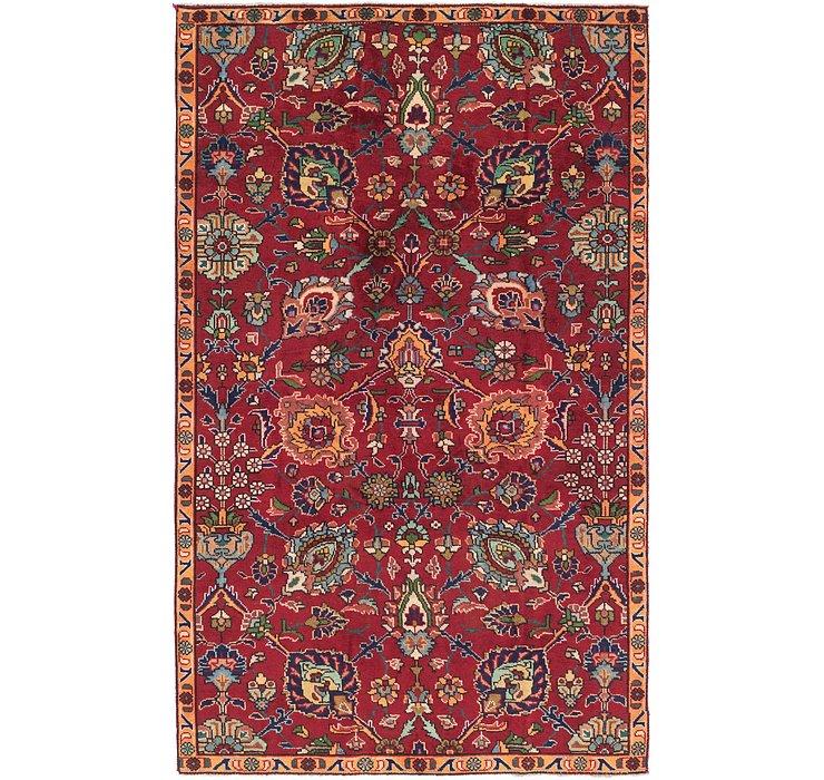 4' 9 x 8' 2 Tabriz Persian Rug
