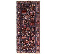 Link to 4' 3 x 10' Roodbar Persian Runner Rug