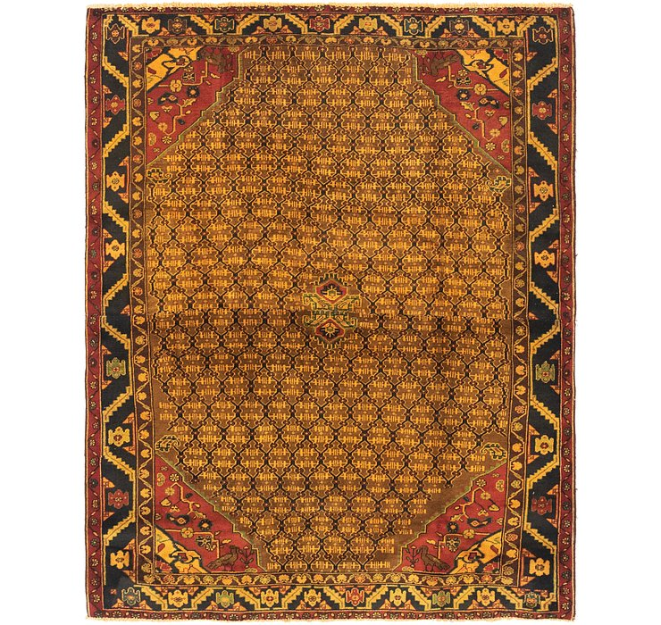 5' 4 x 6' 10 Songhor Persian Rug