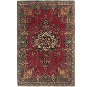 Link to 5' x 7' 4 Tabriz Persian Rug