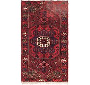 Link to 3' 4 x 6' 3 Hamedan Persian Runner Rug