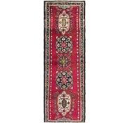 Link to 3' 7 x 11' Tabriz Persian Runner Rug