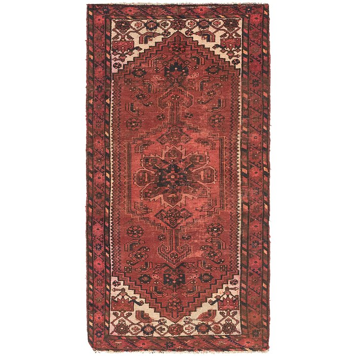 3' 4 x 6' 8 Shiraz Persian Runner Rug