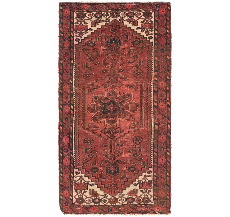 3' 4 x 6' 8 Shiraz Persian Runner Rug