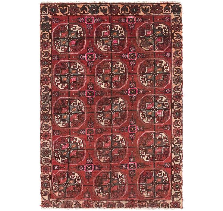 3' 8 x 5' 7 Ferdos Persian Rug