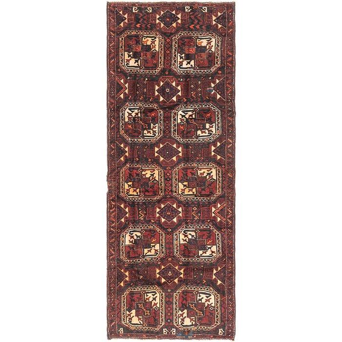 4' 5 x 12' 3 Shiraz Persian Runner Rug