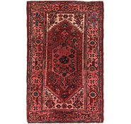 Link to 4' x 6' 7 Hamedan Persian Rug
