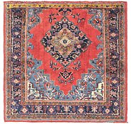 Link to 5' 6 x 5' 6 Golpayegan Persian Square Rug