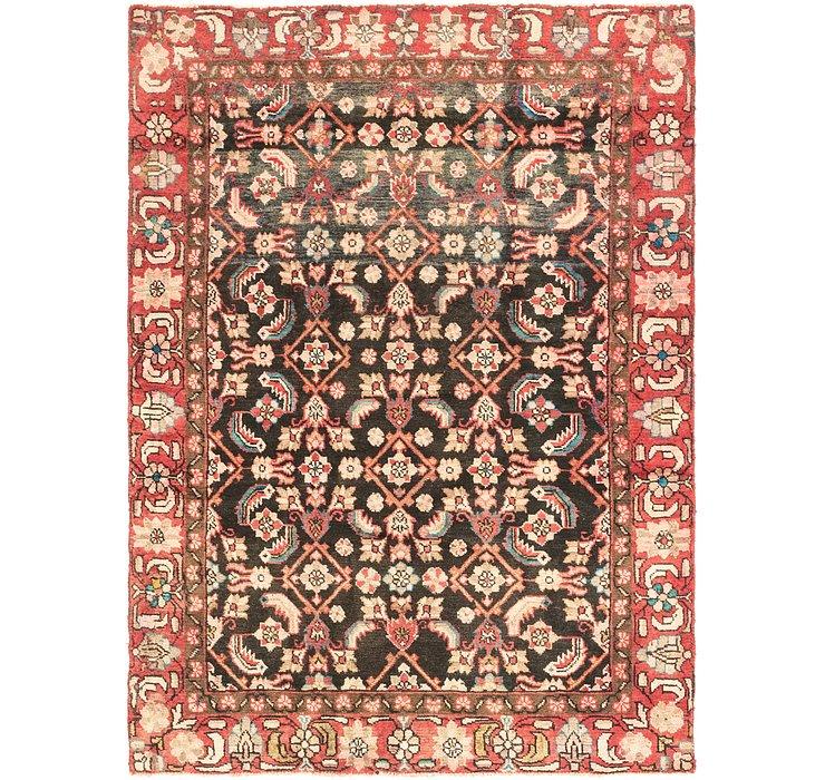 147cm x 203cm Hamedan Persian Rug