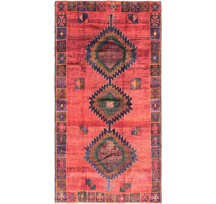 5' 2 x 9' 10 Shiraz Persian Runner Rug