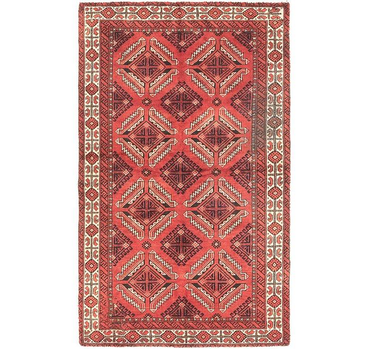 3' 10 x 6' 3 Balouch Persian Rug