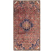 Link to 3' 10 x 7' 7 Hossainabad Persian Runner Rug