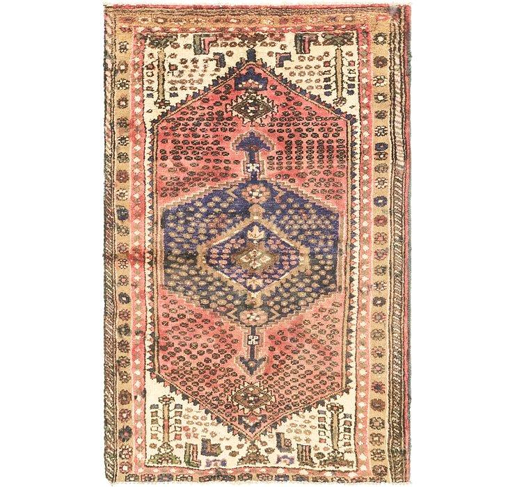 3' 3 x 5' 7 Hamedan Persian Rug