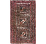 Link to 127cm x 220cm Balouch Persian Rug