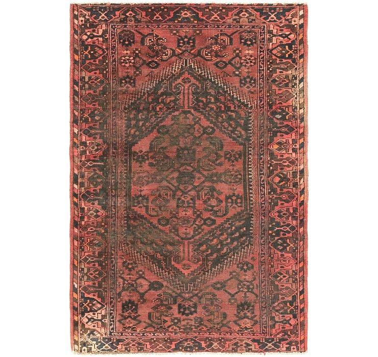 4' 2 x 6' 6 Hamedan Persian Rug