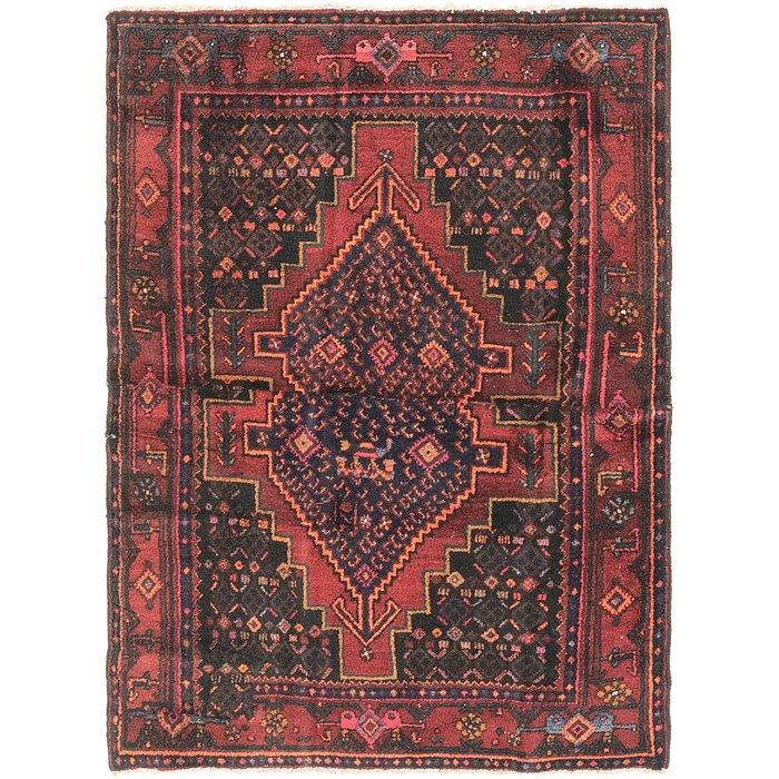 4' 5 x 5' 9 Senneh Persian Rug
