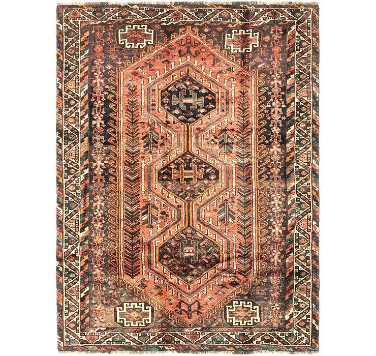 5' 10 x 7' 8 Ghashghaei Persian Rug