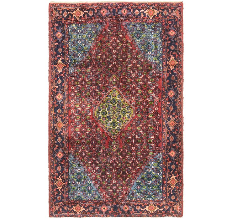 4' 3 x 7' Bidjar Persian Rug
