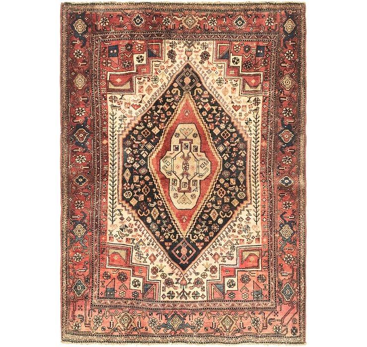 4' x 5' 9 Bidjar Persian Rug