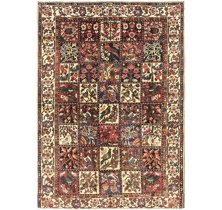 5' x 7' 2 Bakhtiari Persian Rug