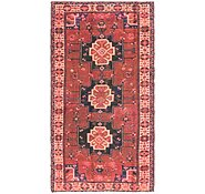 Link to 4' 6 x 8' 5 Shiraz Persian Runner Rug
