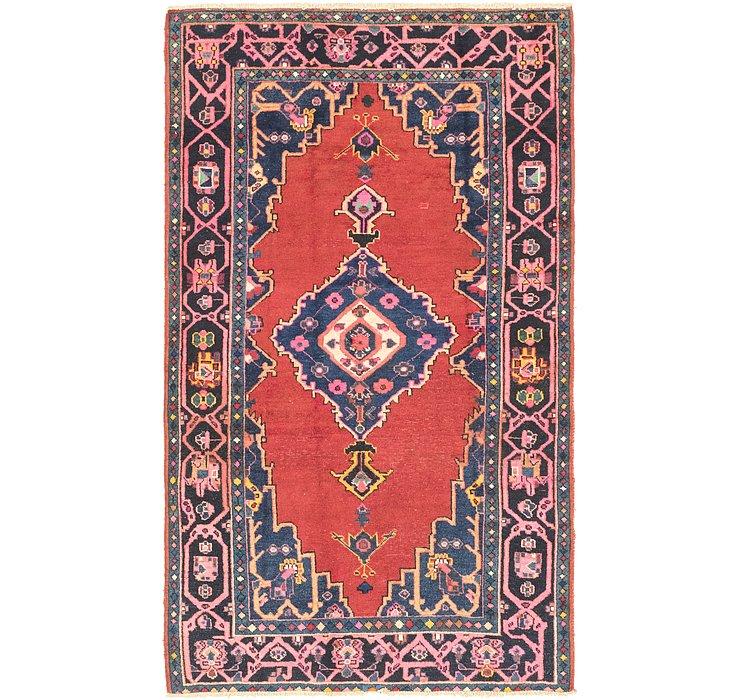 4' 5 x 7' 9 Ferdos Persian Rug