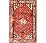 Link to 130cm x 205cm Hossainabad Persian Rug