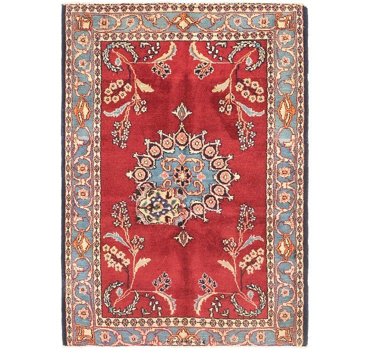 3' 5 x 4' 9 Ferdos Persian Rug