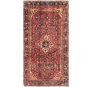 Link to 147cm x 292cm Hossainabad Persian Runner Rug