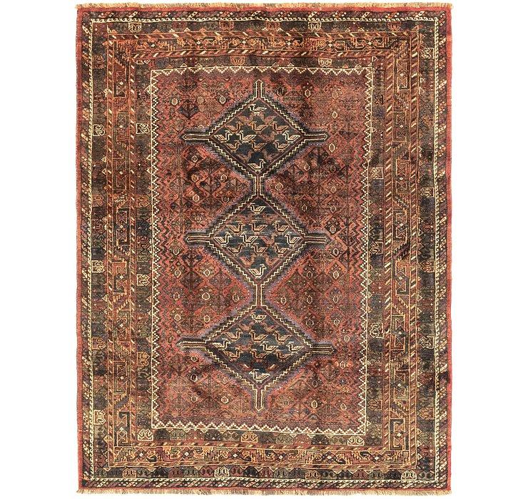 6' 3 x 8' Ghashghaei Persian Rug