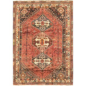 Link to 160cm x 230cm Ghashghaei Persian Rug item page
