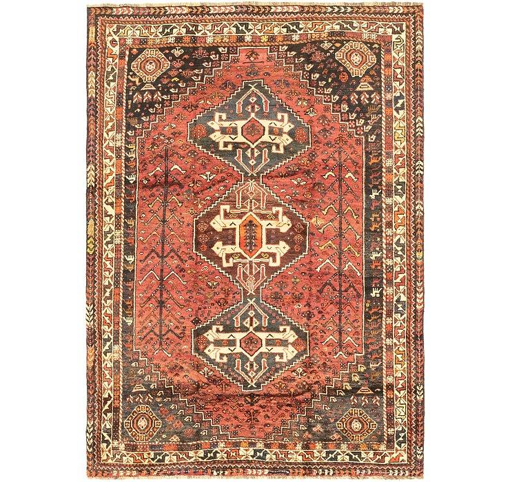 5' 3 x 7' 6 Ghashghaei Persian Rug