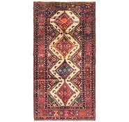 Link to 3' 8 x 7' 3 Chenar Persian Runner Rug