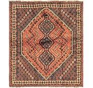 Link to 5' 5 x 6' 3 Ghashghaei Persian Rug