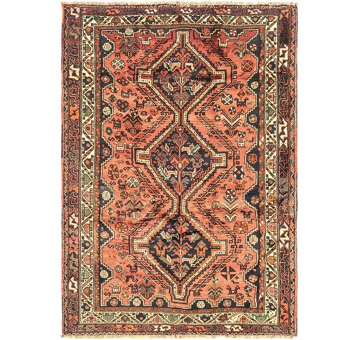 5' 5 x 7' 7 Ghashghaei Persian Rug