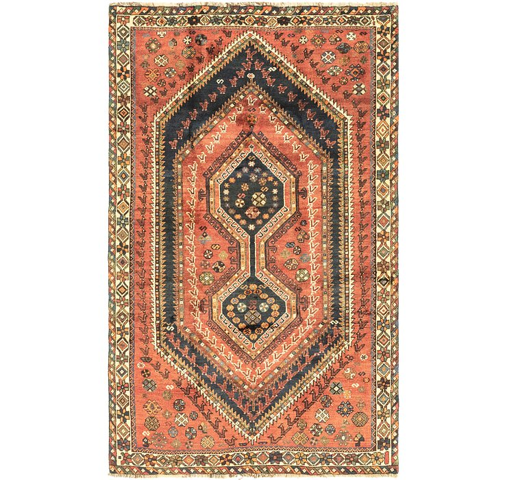 4' 10 x 8' Ghashghaei Persian Rug