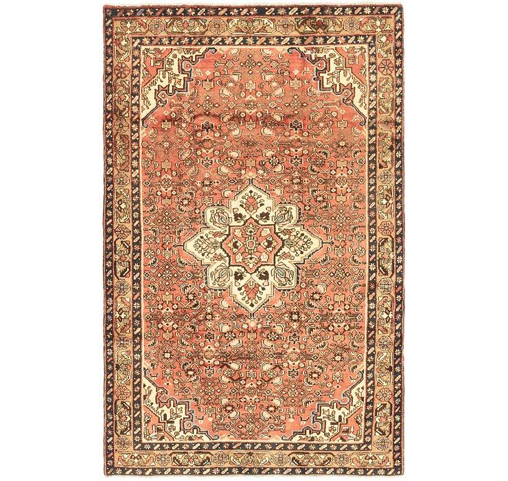 5' 3 x 8' 9 Hossainabad Persian Rug