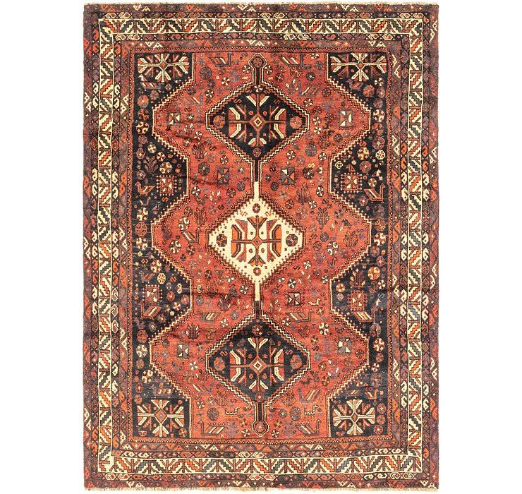 6' 8 x 9' Ghashghaei Persian Rug