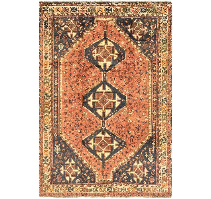 5' 5 x 8' 3 Ghashghaei Persian Rug