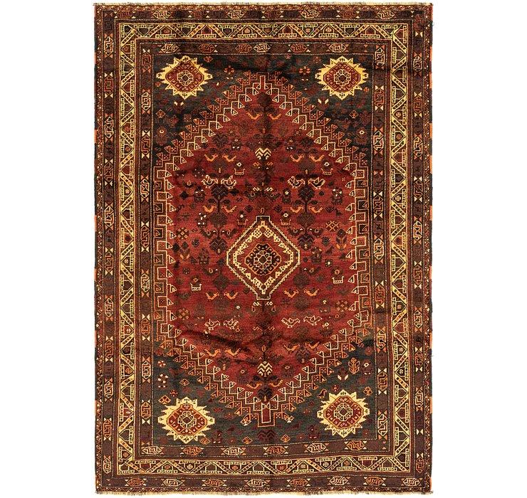 6' 10 x 9' 10 Ghashghaei Persian Rug