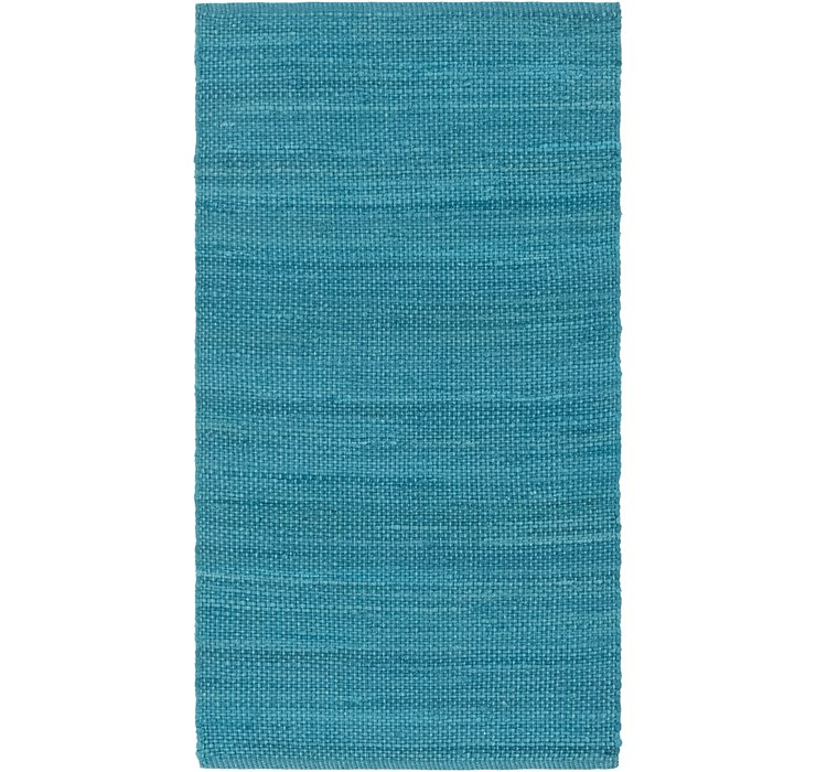 2' 8 x 4' 10 Chindi Cotton Rug
