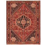 Link to 6' 9 x 9' Ghashghaei Persian Rug