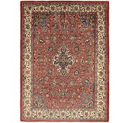 Link to 9' 10 x 13' 3 Sarough Persian Rug