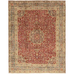 Link to 297cm x 370cm Mashad Persian Rug page