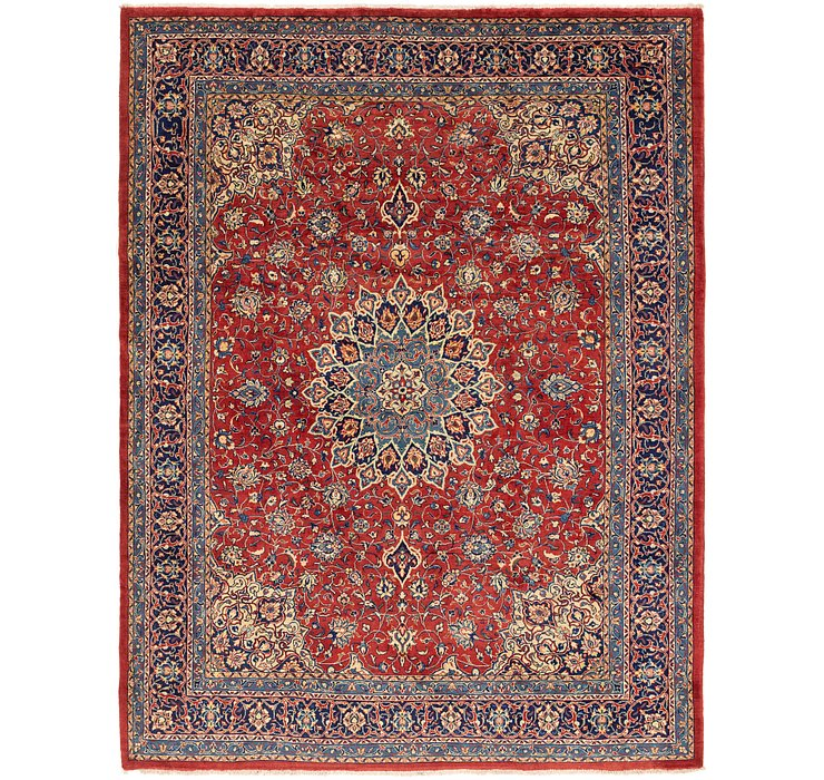 10' 5 x 13' 4 Sarough Persian Rug