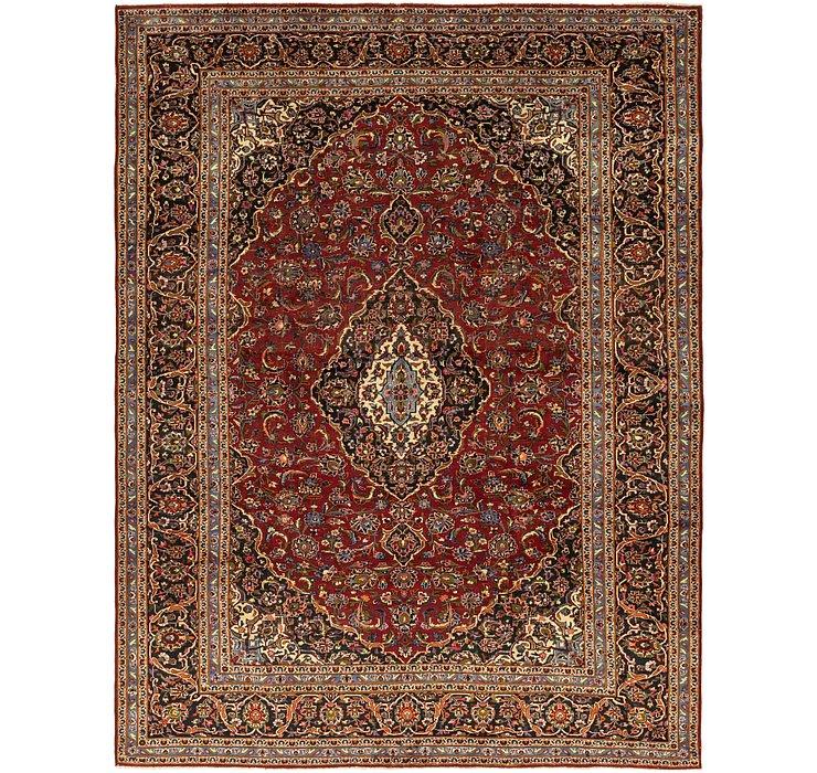 9' 9 x 12' 9 Kashan Persian Rug