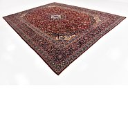 Link to 10' 9 x 14' Kashan Persian Rug