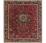 Link to 9' 10 x 11' 3 Tabriz Persian Square Rug