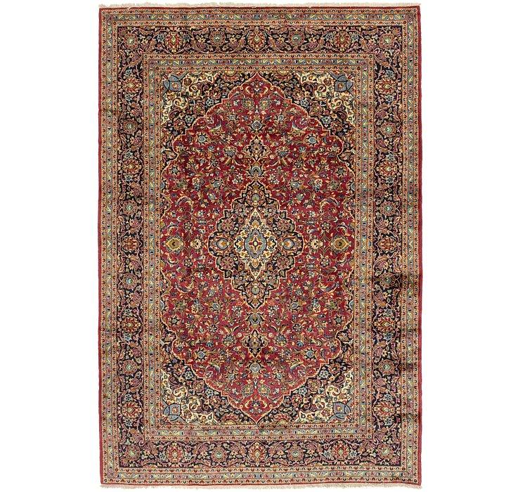 7' 10 x 12' 4 Kashan Persian Rug