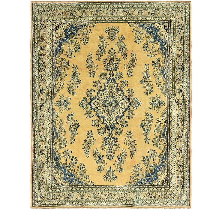 10' 6 x 13' 7 Shahrbaft Persian Rug